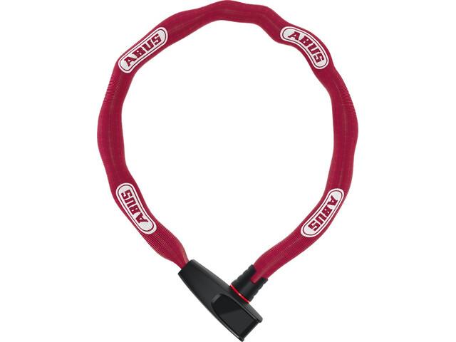 ABUS Catena 6806 candado de cadena 85cm, coral-red